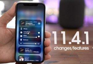 iOS v11.4.1
