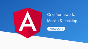 Angular 7 is Google's popular JavaScript framework