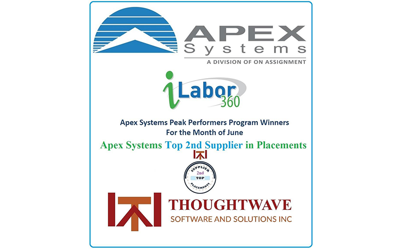 Thoughtwave as the 2nd most top supplier